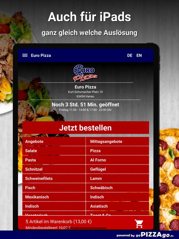 Euro Pizza Hanau screenshot 7