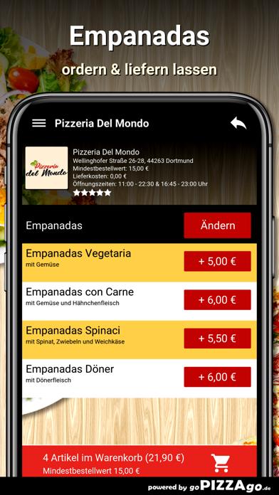 Pizzeria Del Mondo Dortmund screenshot 6