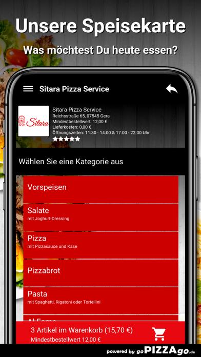Sitara Pizza Service Gera screenshot 4