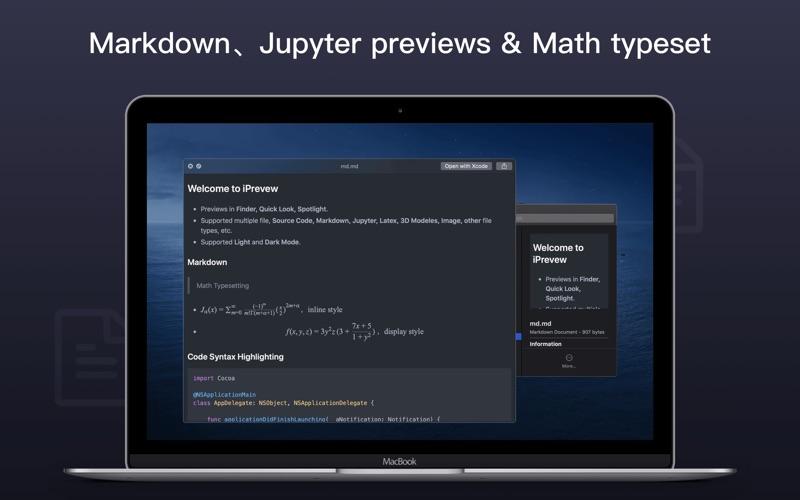 iPreview - 强大好用的Quick Look扩展程序