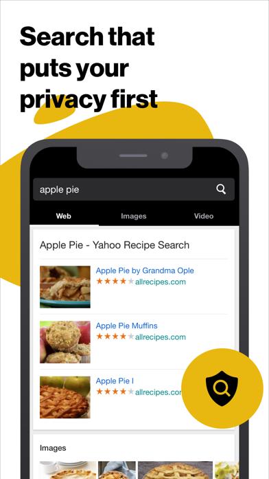 Yahoo OneSearch screenshot four