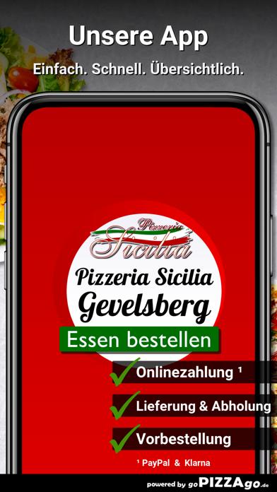 Pizzeria Sicilia Gevelsberg screenshot 1