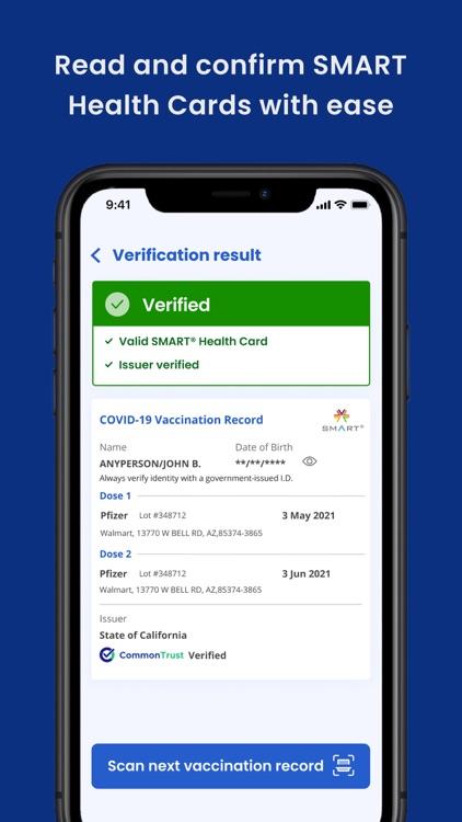 SMART Health Card Verifier screenshot-3