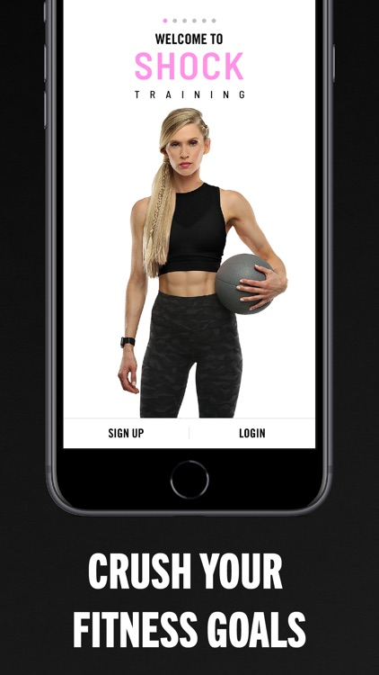 SHOCK: Workouts & Fitness screenshot-0