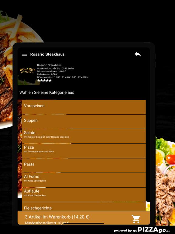 Rosario Steakhaus Berlin screenshot 8