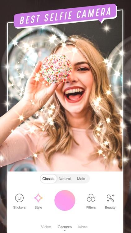BeautyCam-Trendy selfie app screenshot-0