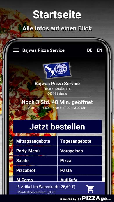 Bajwas Pizza Service Leipzig screenshot 2
