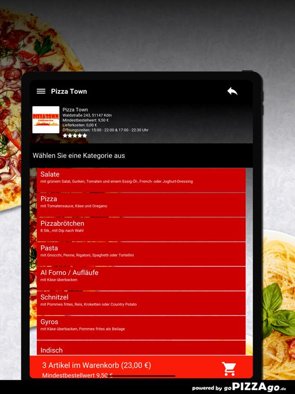 Pizza Town Köln screenshot 8