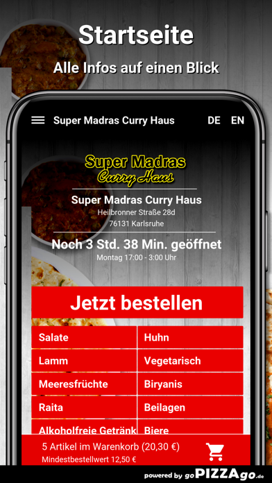 Super Madras Karlsruhe screenshot 2