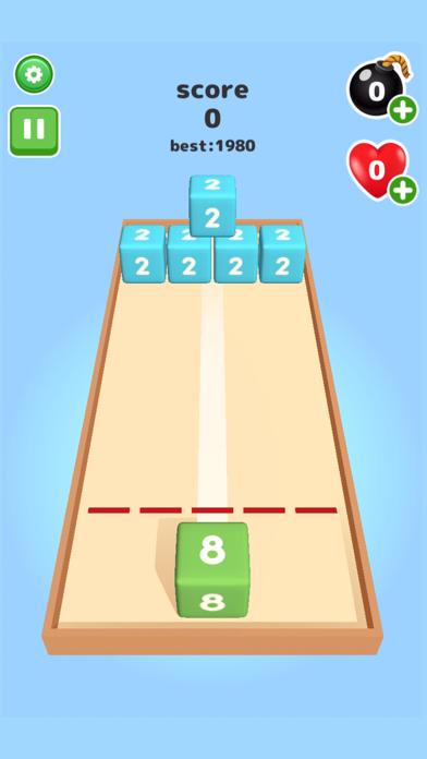 2048 Throw cube - Merge Game screenshot 2