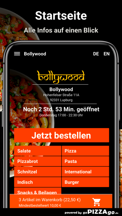 Bollywood Lupburg screenshot 2