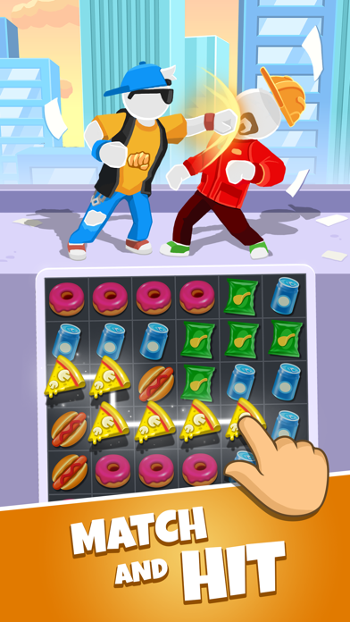 Match Hit - Puzzle Fighter screenshot 1