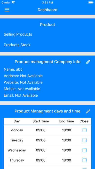 Product Manageable屏幕截图2