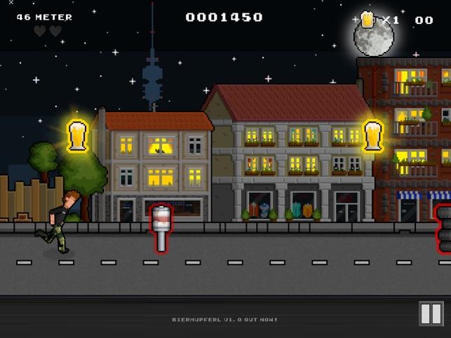BierHupferl, game for IOS