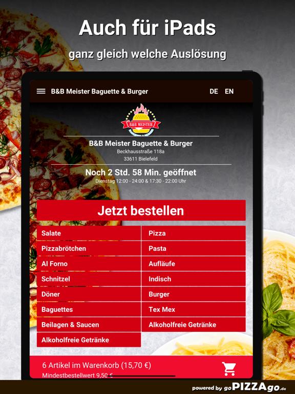 B&B Meister Baguette & Burger screenshot 7