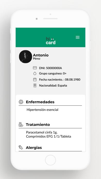 hi+card App screenshot 3
