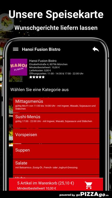 Hanoi Fusion Bistro München screenshot 4
