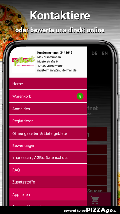 Pikat - Die Pizzakantine Kiel screenshot 3