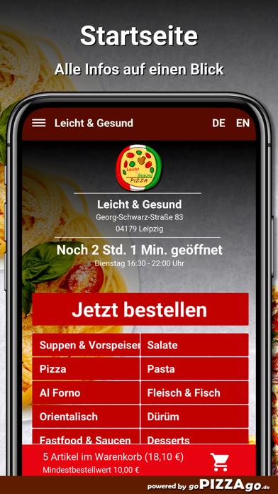 Leicht & Gesund Leipzig screenshot 2