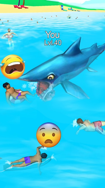 鲨鱼袭击 - Shark Attack game