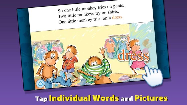 5 Little Monkeys Go Shopping