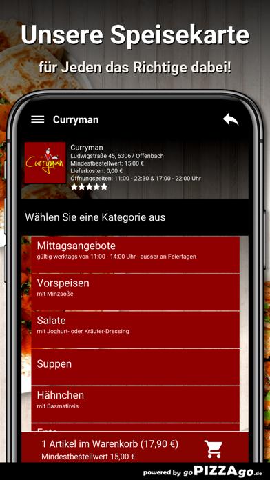 Curryman Offenbach screenshot 4