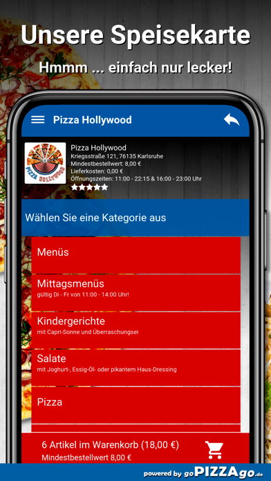 Pizza Hollywood Karlsruhe screenshot 4