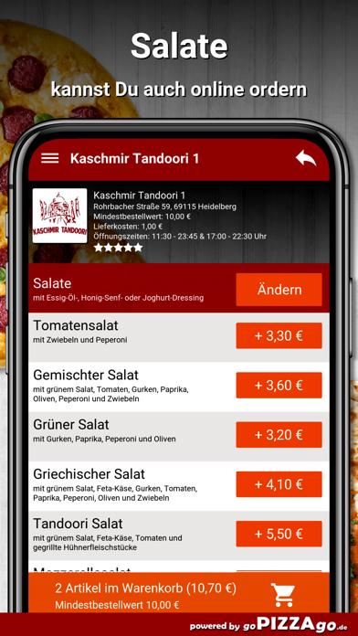 Kaschmir Tandoori 1 Heidelberg screenshot 5