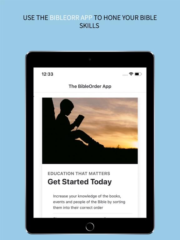 the BibleOrder App screenshot 9