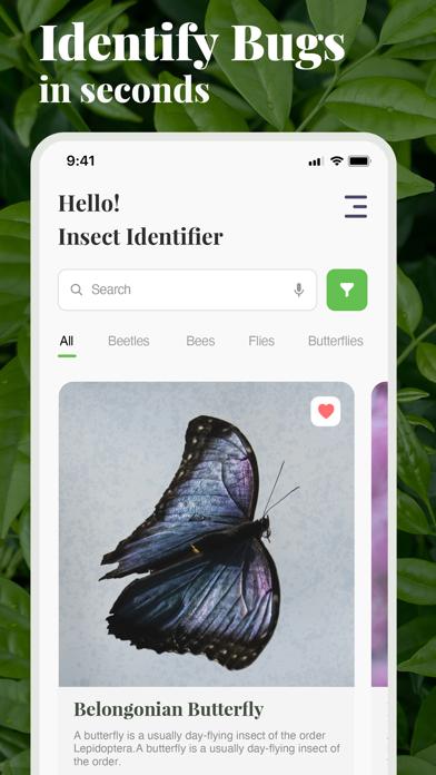 虫の名前がわかるアプリ-ものすごい図鑑昆虫判定虫図鑑のおすすめ画像1