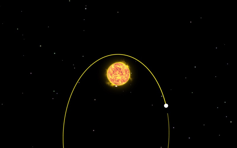 Planet Gravity - PhysicalOrbit screenshot 1