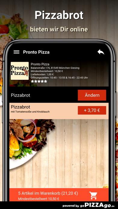 Pronto Pizza München Giesing screenshot 5