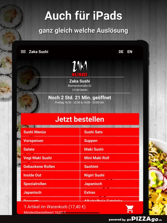 Zaka Sushi Berlin screenshot 7