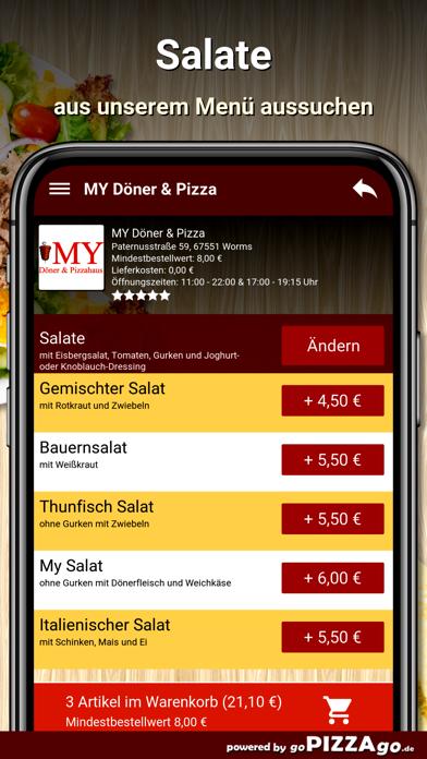MY Döner & Pizza Worms screenshot 5