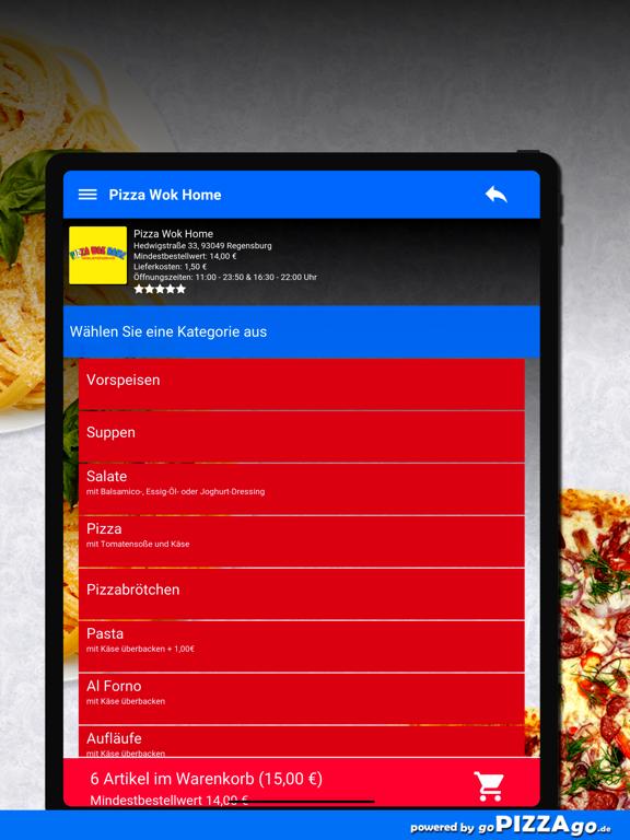 Pizza Wok Home Regensburg screenshot 8