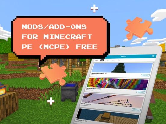 iPad Image of Add-ons for minecraft pe, mcpe