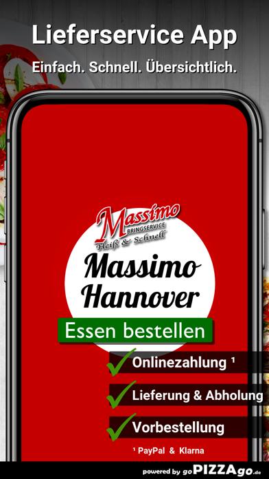 Massimo Pizza Hannover screenshot 1
