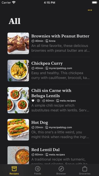 Mela - Recipe Manager screenshot-7