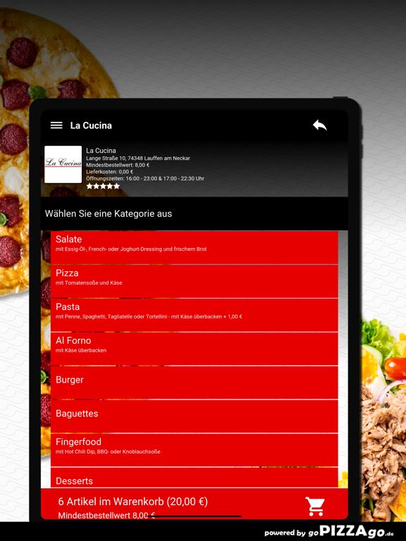 La Cucina Lauffen am Neckar screenshot 8