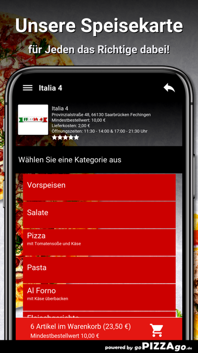 Italia 4 Saarbrücken screenshot 4