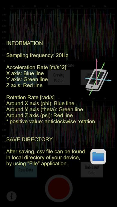 Gyro Sensor CSV紹介画像2