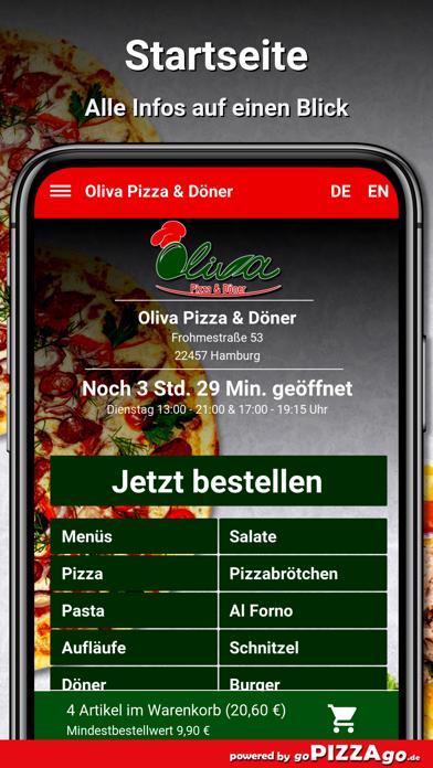 Oliva Pizza & Döner Hamburg screenshot 2
