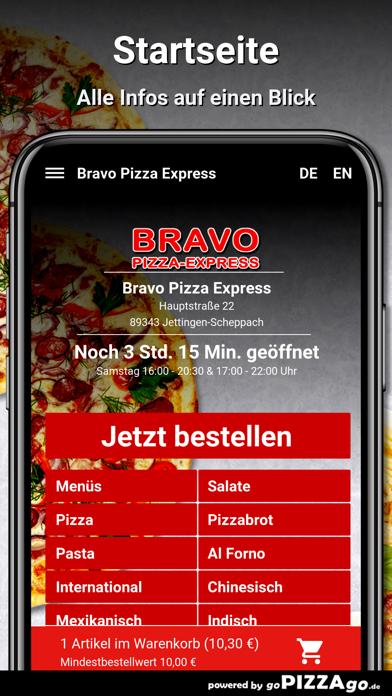 Bravo Pizza Express Jettingen screenshot 2
