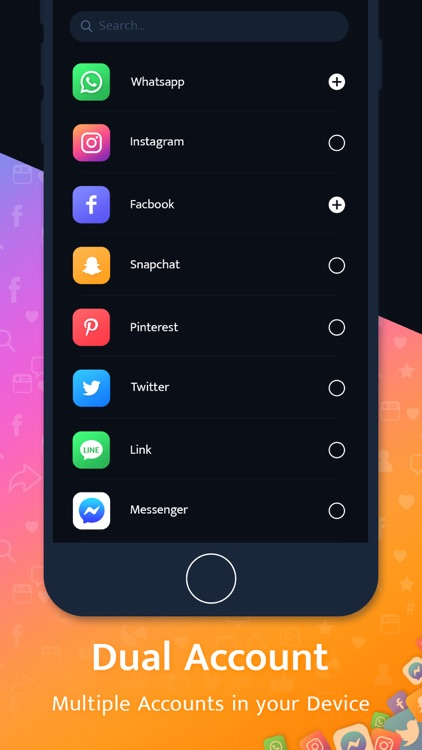 Multiple Account - Dual Space screenshot-3