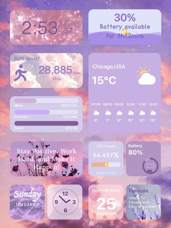 カラーウィジェット - Color Widgetsのおすすめ画像1