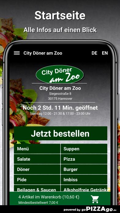 City Döner am Zoo Hannover screenshot 2