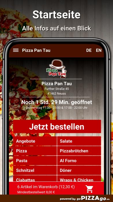 Pizza Pan Tau Neuss screenshot 2