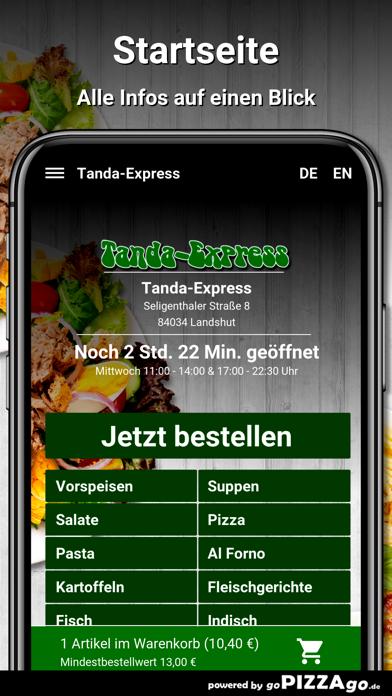 Tanda-Express Landshut screenshot 2