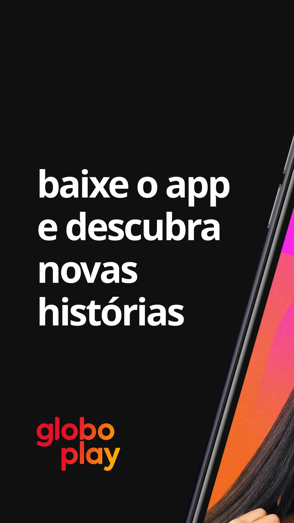 Screenshot do app Globoplay: séries, filmes e +