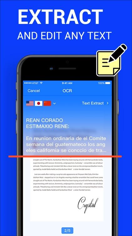 Scanner App : PDF Scanner screenshot-3
